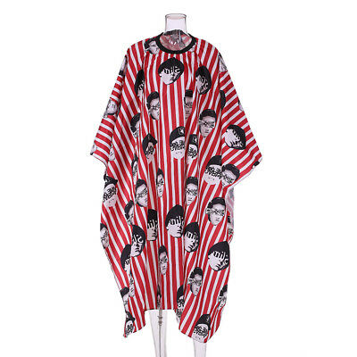 Pro Salon Apron Hairdressing Gown Waterproof Cloth Anti-static Haircutting E4T9
