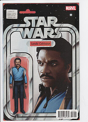 Star Wars Lando #1 John Tyler Christopher Action Figure Variant, Marvel 2015