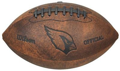 27f1d9c95 Arizona Cardinals Vintage Throwback Football - 9 Inches  NEW  NFL Autograph