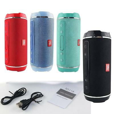 Portable Wireless Bluetooth Speaker Stereo Hands-free Waterproof WiFi Charge New