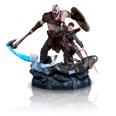 God of War Collectors Edition Statue! Brand New! Kratos & Son!