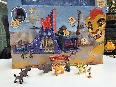 Disney Collection The Lion Guard Hyenas Hideout Toy Playset Janja Chungu