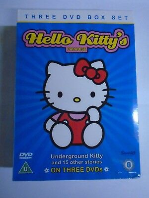 Hello Kitty's Paradise - Underground And Other Stories (DVD) New & Sealed D1