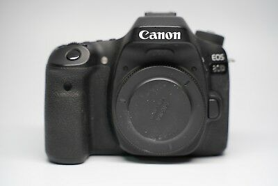 Canon EOS 80D 24.2MP Digital SLR Camera Body 2 Original Battery