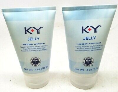 K-Y Jelly Personal Lubricant (4 oz), Premium Water Based Lube For Women, Men....