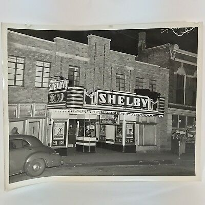7 Vintage Photographs of Shelby Movie Theater in Kentucky, Falls City Collection