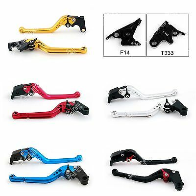 Long Brake Clutch Lever For Triumph Speed Triple Four Sprint ST GT Rocket III B1