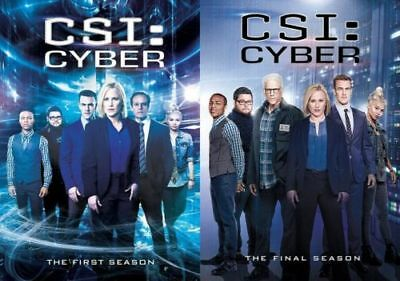 CSI: CYBER Complete Series Seasons 1-2 DVD Bundle BRAND NEW Free Ship