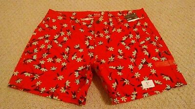 b316d53f901 New With Tags Ana Womens Size 4 Multi-Color Floral Cotton Blend Twill Shorts