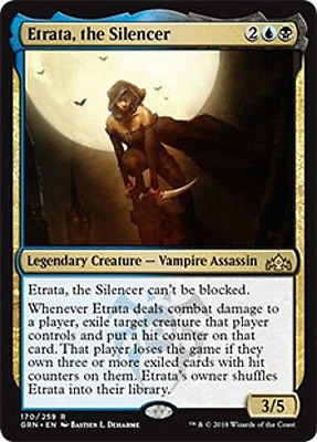 X2 ETRATA, THE SILENCER Guilds of Ravnica MTG NM-MINT