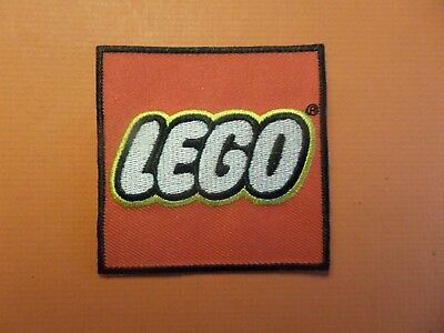 """Lego """"legos """" Embroidered Iron On Patch 2-3/4 X 2-3/4"""