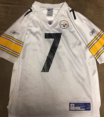 dc98407e0f8 YOUTH GIRLS REEBOK NFL Pittsburgh Steelers Ben Roethlisberger Jersey ...