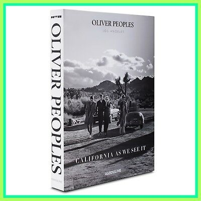 Oliver Peoples California As We See It Coffee Table Book