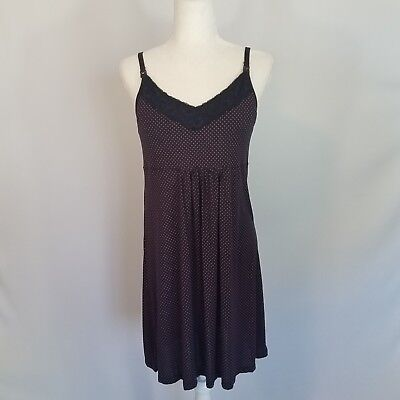 GAP Maternity Pure Body Polka-dot Dress Women's Size Medium