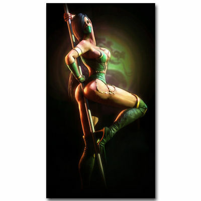 Mortal Kombat X Fighting Games JADE Art Silk poster 8x12 24x36 24x43
