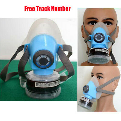 Half Face Mask Respirator Dustproof Paint Spray Air Safety Filter w/ Cartridge