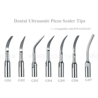 Dental Ultrasonic Scaler Scaling Perio Endo Tips For SATELEC DTE GD1-7 PD1-4