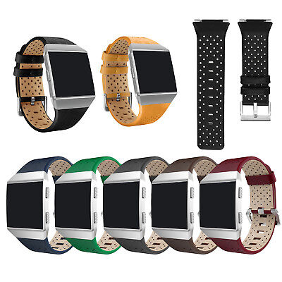 Leather Watch Wrist Band Strap Bracelet Replace For Ionic Smart Watch