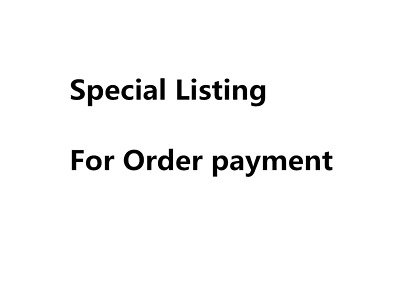 Special Listing For Order payment