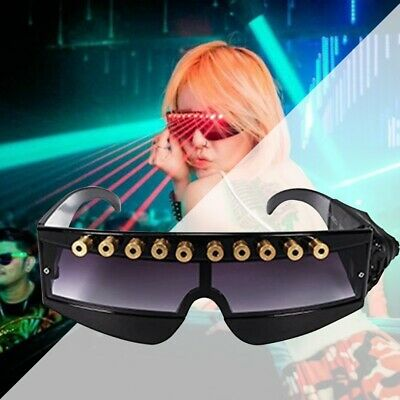 Laser Lighting Glasses Visible Beam Party Stage DJ Nightclub Dancer Show Gift
