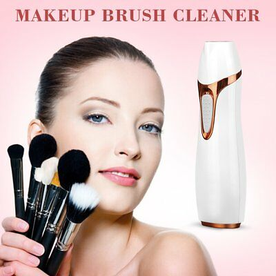 Electric Makeup Brush Cleaner Cosmetic Dryer Wash Cleaning Tool Kit Beauty Set