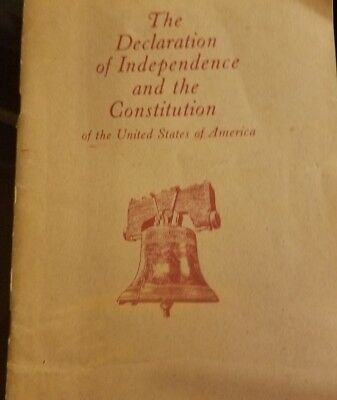 The Declaration of Independence and the Constitution (1979, Paperback) U.S. Govt