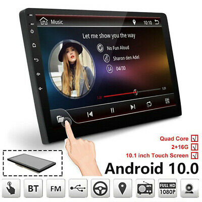 10.1 Car GPS Android8.1 Bluetooth Stereo Radio Double 2DIN Player Wifi Universal