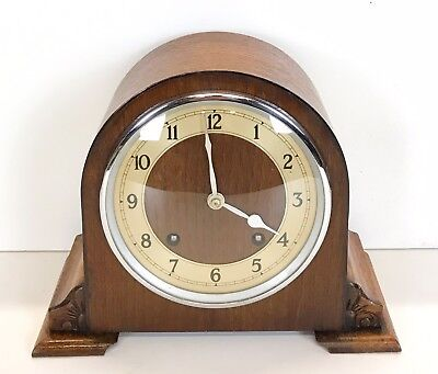 Art Deco Garrard Striking Clock