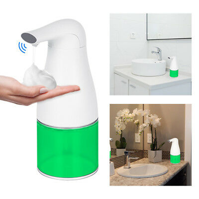400ML Touchless Electric Soap Liquid Dispenser Handsfree Automatic IR Sensor AU
