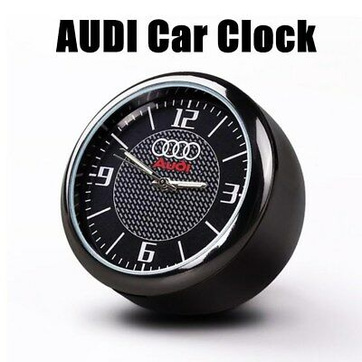 Vintage Car Clock For Audi Refit Interior Luminous Electronic Quartz Ornaments