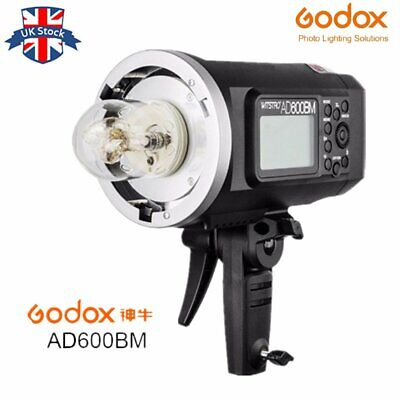 UK Stock! Godox AD600BM 600W 1/8000s 2.4G Wireless Portable Outdoor Studio Flash