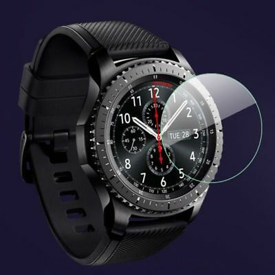 Watch Screen Protector Cover Tempered Glass Film for Samsung Galaxy Gear S3 S2