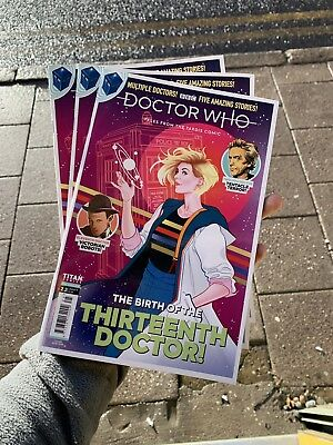 Doctor Who Comic Tales From The Tardis Issue 2.2 Janury 2019 Birth Of New Dr Who