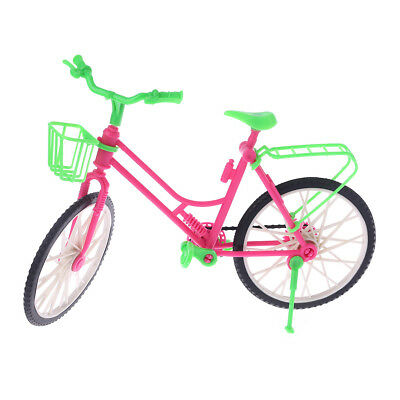 Doll Bicycle Simulation Bike Dollhouse Decoration Removable House Game Kids Toy