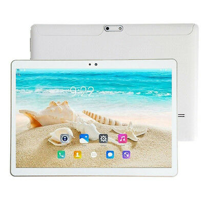 """TABLETTE TACTILE 10.1"""" IPS 2560x1600 OCTA CORE 4GB 64GB ANDROID 7 2SIM Blanc"""