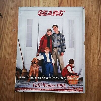 Sears Canada Fall/Winter 1996 Catalogue 1000 pages in EX condition