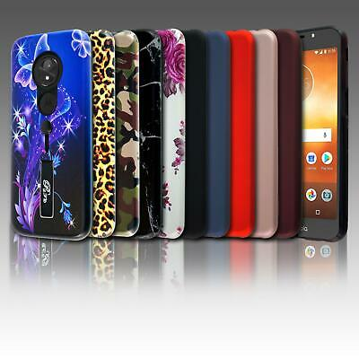 For Motorola Moto E5 Play XT1920 New ShockProof Phone Case Cover + Screen Guard