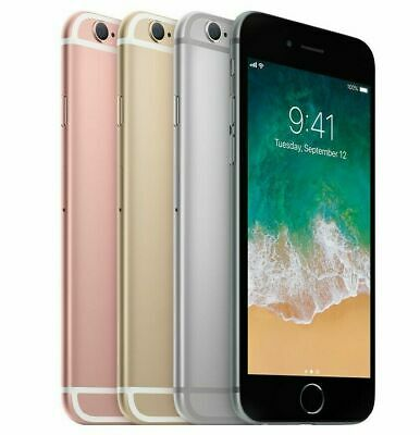 Apple iPhone 6S 32GB/ 64GB/ 128GB Gray/ Rose Gold/ Gold Unlocked Smartphone *y