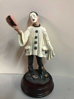 Duncan Royale Pierrot Mime Clown Figurine Statue Limited Collectors Edition