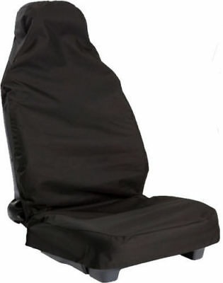 Rover Mg City (2003-2005) Heavy Duty Waterproof Black Single Car Van Seat Cover