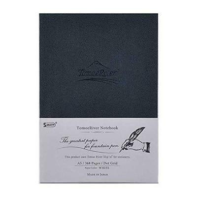 """Tomoe River FP Notebook Dot Grid A5 White 368p Hard Cover 5.85"""" x 8.27"""" Japan"""