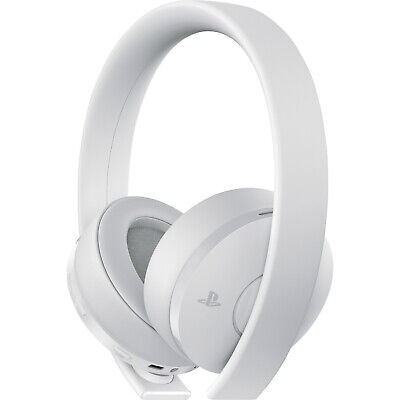 Sony Gold Wireless Stereo Headset for PlayStation 4 - White [Brand New]