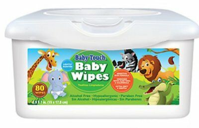 Baby Touch Wipes. 300 Premium Quality Scented Baby Wipes. Cleansing, Soft.