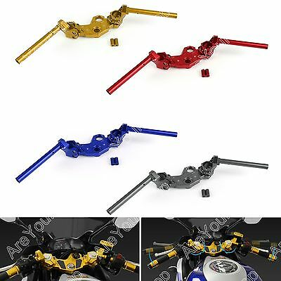 Top Triple Clamp Fork & Clip On Set Handle Bars For Yamaha R3 R25 MT-03 15-16 B1