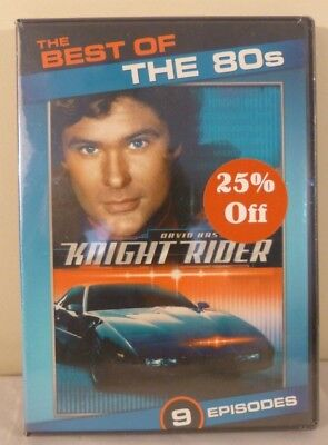 The Best of the 80s: Knight Rider (DVD, 2011, 2-Disc Set)
