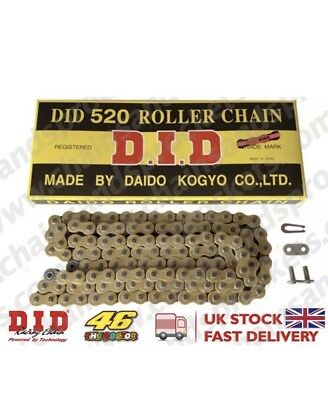 DID Gold/black 520 X 120L Heavy Duty Chain