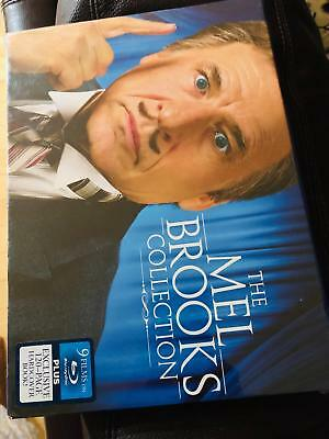 NEW The MEL BROOKS Deluxe Collection Blu-Ray 9 Movies + 120 page HARDCOVER Book