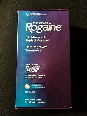Womens rogaine 4 month