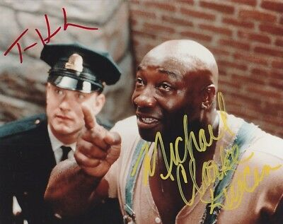 """the Green Mile"" 8X10 Signed By Tom Hanks & Michael Clarke Duncan"