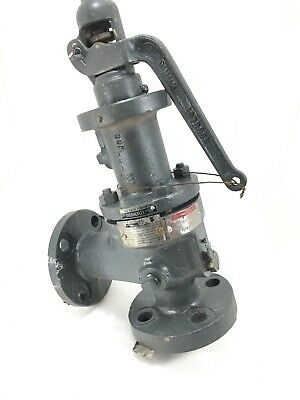Dresser Consolidated 1910Fc-1 Flanged Steel Pressure Relief Valve - Used